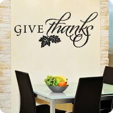 Fall Thanksgiving Wall Art Decals Wall Written