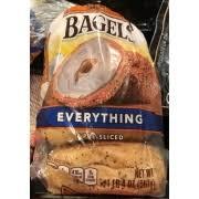 thomas bagels everything calories