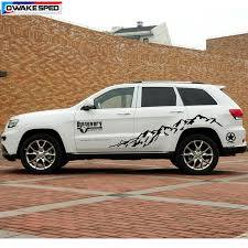 Mountain Off Road Car Sticker For Jeep Grand Cherokee Compass Cherokee Outdoor Sport Auto Body Vinyl Decal Exterior Accessories Car Stickers Aliexpress