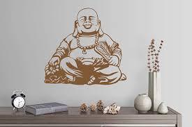 Amazon Com 24 X24 Buddha Art Mural Namaste Yogo Peace Wall Decal Sticker Art Mural Home Decor Home Kitchen