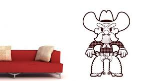 Cowboy Wall Decal Dezign With A Z