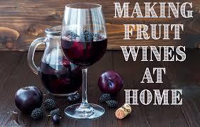 fruit wines raspberry cherry plum