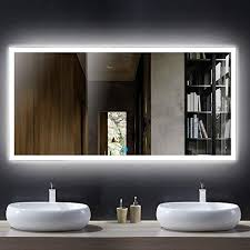 large horizontal rectangle mirror