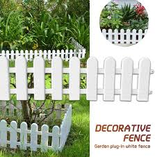 Top 10 Largest Garden Plastic Flower Fence Ideas And Get Free Shipping A762
