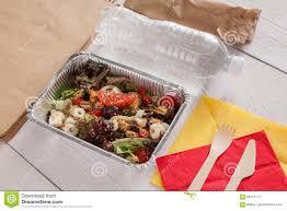 Diet Concept. Seafood Salad ...