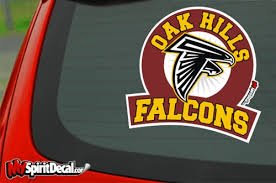 Falcons Car Window Decal