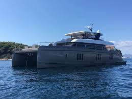 luxury crewed power catamaran otoctone