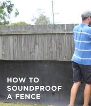 How To Soundproof A Fence With Acoustic Fence Wrap