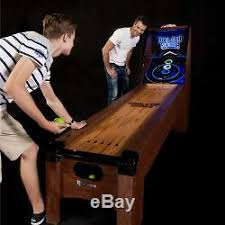 Skee Ball Game Machine For Kids Table Arcade Furniture Game Room Equipment Best