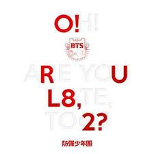 bts o rul8 2 1st mini al cd 2p