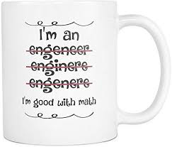 com i m an engineer good math coffee mug tea cup