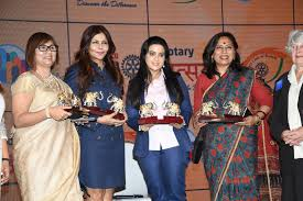 9. Nisha Jamval, Amruta Fadnavis and Abha Singh during DISCON 2018 – RI  DISTRICT 3141 – ROTARY UTSAV 2018 DSC_6098 – Indian Food Express