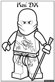 Lego Ninjago Morro Coloring Pages