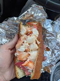 and immortal and here's a lobster roll ...