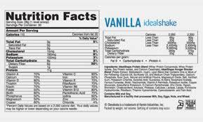 amazon shakeology vanilla shakes