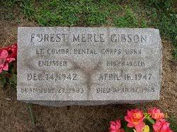Dr Forest Merle Gibson (1903-1968) - Find A Grave Memorial