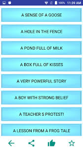 Moral Stories In English 119 Stories For Android Apk Download
