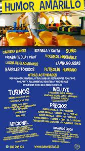 Humor Amarillo Madrid Circuito Multiaventura En Madrid