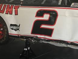 Brad Keselowski S Car Tangles With Fence Post Exiting Cup Garage