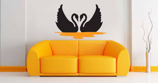 Swans Wall Decals Dezign With A Z