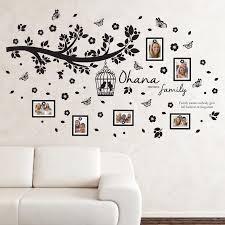 Ebern Designs Ohana Family Tree Wall Decal Reviews Wayfair