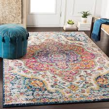 belmont oriental pink saffron area rug