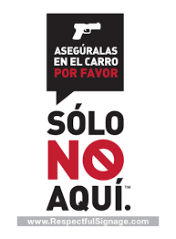 Spanish Leave In Car Window Decal