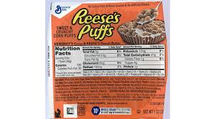 reeses puffs cereal serving size