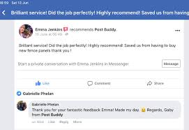 Post Buddy Great Comments About Post Buddy From A Happy Customer More Broken Fence Posts Easily Fixed Postbuddysystem Co Uk Diy Diyers Gardening Facebook