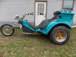 vw volkswagen trike chopper custom