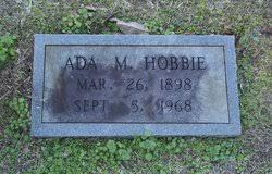 Ada Murphy Hobbie (1898-1968) - Find A Grave Memorial