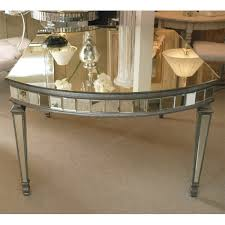 mirrored coffee table antique mirrored