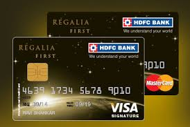 hdfc regalia first credit card review