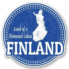 2 X Finland Vinyl Sticker Decal Ipad Laptop Car Travel Luggage Tag Gift 4750 Car Decal Finla Travel Stickers Vinyl Stickers Laptop Vintage Travel Posters
