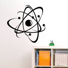 Atom Wall Sticker Decal World Of Wall Stickers