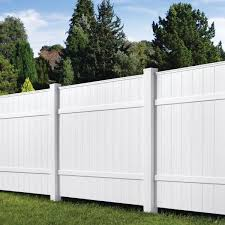 Veranda 6 Ft H X 6 Ft W White Vinyl Windham Fence Panel 73014216 The Home Depot