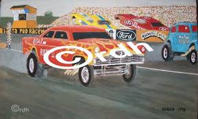 American Classic Car Decal Stickers Dragster Hotrod Racing Santa Pod Archives Midweek Com