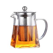 2020 glass teapot with tea infuser