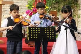 어린이 바이올린팀 특주 - 2018년 5월 20일 주일 2부 예배 - 신당중앙교회