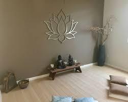 lotus flower large 3d metal wall art