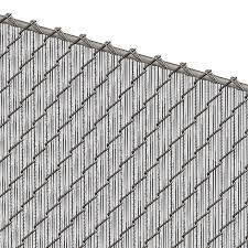 Pds Ws Chain Link Fence Slats Winged Slat 4 Foot White