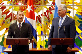 Russia's Medvedev Slams US for Cuba Embargo During Havana Trip | Voice of  America - English