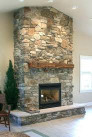stone on fireplace mantels and