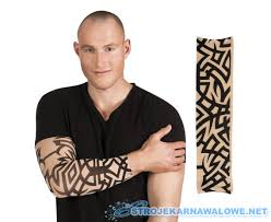Rekaw Z Tatuazem Tribal Sklep Sk