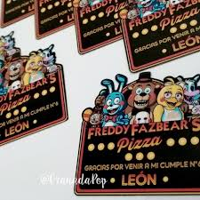 Imanes De Five Nights At Freddy S Fnaf Cotillon 4 600 En