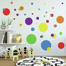 Roommates Primary Colors Just Dots Peel Stick Wall Decals Walmart Com Walmart Com
