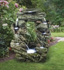outdoor water fountain at menards