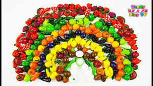 Learning Colors With Fruits and Vegetables Rainbow Rainbow ...