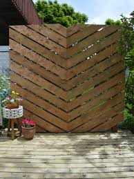 ways to add privacy to a deck or patio