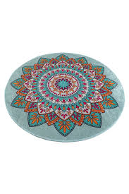 royal round bath bathroom rug mat